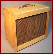Empty 1x10 Guitar Cabinet by Dovetailed Pine Oversized Replacement Cab For Fender Pro Junior Jr