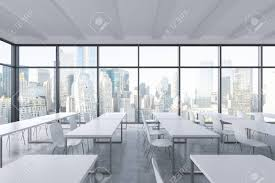 A Modern Panoramic Classroom With New York View. White Tables.. Office Jape Furnishing Superstore Vs Ergonomic School Fniture Free Images Auditorium Building Education Classroom A Modern Panoramic With New York View White Tables Fast Food Table Chair Set Commercial Cafe Fniture Used And For Restaurant Buy Ding Room Chairs 10 Myastheniagbspkorg Teaching Staffroom Archives Newart Amazoncom Pack Wedding Quality Stackable Florida Tylanders Samsonite 49754 Injection Mold 2200 Series 8 Pack