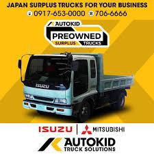 100 Surplus Trucks Isuzu Forward Dump Truck Autokid Japan Wing