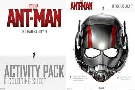 FREE Printable Ant Man Activity Pages And Coloring Sheets