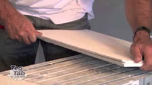 Tegular Ceiling Tile Blocks by Tegtab Installation It U0027s A Snap Youtube