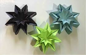S Wall Decoration With Paper Star For Th Of July Art Origami Butterfly Easy To Do