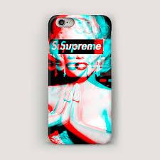 Supreme iPhone 7 Case Marilyn Monroe iPhone 6 Plus Case