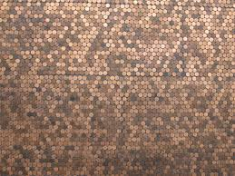 Texture Floor Wall Pattern Brown Soil Material Art Design Copper Currency Carpet Granite Panel Coins Pennies