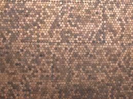 Texture Floor Wall Pattern Brown Soil Material Art Design Copper Currency Carpet Granite Panel Coins Pennies