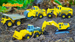 100 Trucks And Toys Tonka And Diggers Toy Unboxing Jack Jack Playing With