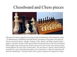 2 Chessboard And Chess Pieces The Game