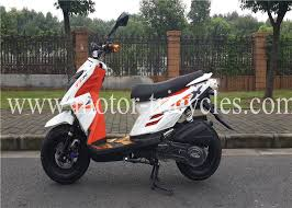 Drum Brake Air Cooled Motorcycles Scooters 150CC Gas Motor For Adults