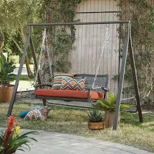 Belham Living Universal A Frame Metal Porch Swing Stand Walmart