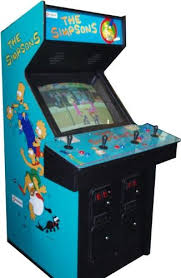 4 Player Arcade Cabinet Dimensions by Amazon Com Simpsons 4 Player Arcade Game Sports U0026 Outdoors