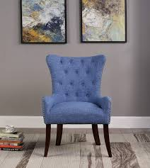 Amazon.com: NHI Express 60000-18BL Kyle Accent Chair, Blue ... Hayworth Accent Chair In Cobalt Blue Moroccan Patterned Big Box Fniture Discount Stores Miami Shelley Velvet Ribbed Mediacyfnituhire Boho Paradise Tall Colorful New Chairs Divani Casa Apex Modern Leatherette Spatial Order Hudson With Metal Frame Solo Wood Chairr061110cl Meridian Fniture Tribeca Navy Sofamania On Twitter Feeling Blue Velvety Both Enjoy