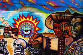 Chicano Park Murals Map by Barrio Art Crawl October 14 2017 Kpbs