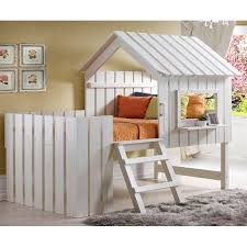 Donco Kids Cabana Twin Low Loft Bed & Reviews