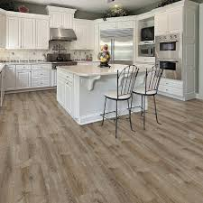 Grip Strip Vinyl Flooring by 8 7 In X 47 6 In Smoked Oak Almond Luxury Vinyl Plank Flooring