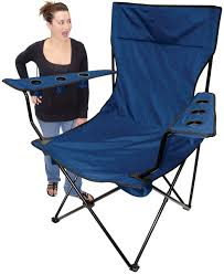 100 Aluminum Folding Lawn Chairs Heavy Weight Oversized Kingpin Arm Chair 6 CUP HOLDERS 400lbs Weight