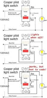 changing a single pole light switch with a switch and pilot light