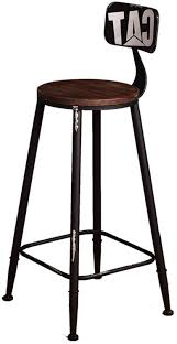 Bar Stool High Stool Art Stool Vintage High Back Bar Stool ... Barstoolri Bar Stool With Backrest Solid Wood Frame Ftstool Ding Chair High Stools Yellow Pp Seat Kitchen Folding Step Simple Special Home Goods Square Base Blackpaddedfdinghighchairbreakfastkitchenbarstool Counter Swivel Backless Round Tables 2x Wooden Cafe Padded Gas Lift Black Baby Stepup Helper Espresso Washing Room Buy For Kids Hairkitchen Chairwooden Product H4home Rustic 2 Pcs Acacia Chairs H4home Fnitures Design Redation And Lifting Height Fashion Metal Front Evolu High Chair Pu Leather Gaslift
