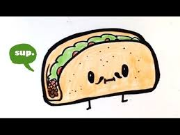 How to Draw a Taco Chibi Easy to Draw