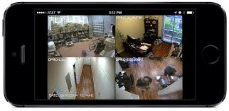 Security Cameras from iPhone App