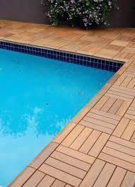 patio ideas diy outdoor wood tiles ikea runnen floor decking