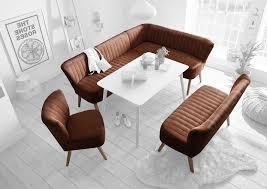 marcel essgruppe eckbank 2 sitzer stuhl esszimmer maron braun
