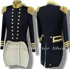 U S Naval ficers Dress Tail Coat Union Navy uniforms USN