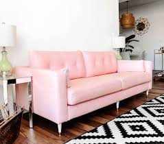 Karlstad Sofa Legs Uk by Karlstad Sofa Ikea Hack Mid Century Inspired Pink Sofa U2026 Pinteres U2026