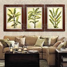 südostasiatischen bananenbaum handgefertigten dekor arbeit hohe qualität abstrakte moderne wandkunst ölgemälde auf leinwand wand decor kunstwerke