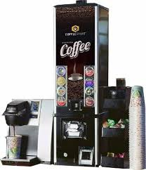 K Cup Vending Machine Keurig K145 Commercial Coffee Station Organizer Empty