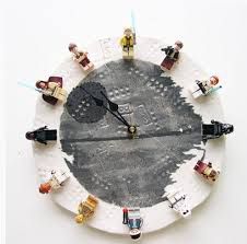 Star Wars Room Decor Diy by A Diy Lego Star Wars Clock A Better Way For Kids To Ring In The