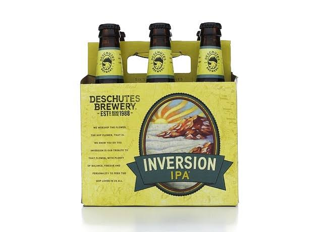 Descutes Brewery Inversion Ale India Pale - 6 Bottles