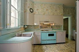 Gorgeous Gray And Turquoise 1956 Dream Kitchen Four Bathrooms