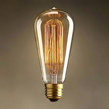 vintage edison bulbs e27 220v incandescent bulbs 25w 40w 60w st64