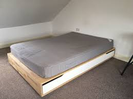 ikea mandal bed and sultan hogbo mattress 180 in camberwell