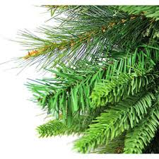 Vickerman 35 Pre Lit Mixed Cashmere Pine Potted Artificial Christmas Tree Alternate Image