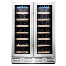 Tresanti Wine Cabinet With 24 Bottle Cooler by Wine Coolers U0026 Refrigerators You U0027ll Love Wayfair