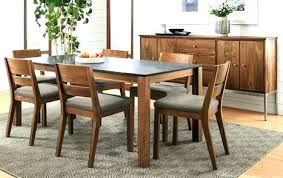 Cool Dining Room Tables Black Chairs Table With Different Our Modern Handcrafted