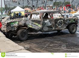 Demolition Derby Editorial Photo. Image Of Demolish, Action - 58143266
