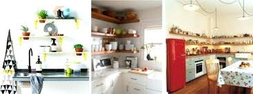 etageres de cuisine etageres de cuisine petites actagares ouvertes dans un angle de la