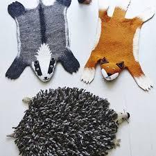 tapis de chambre bébé tapis animaux pour chambre d enfant