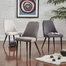 Inspire Q Winona Espresso Mid Century Angled Chair 2 in Set