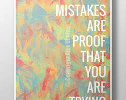 16x20 Mistakes Are Proof That You Trying