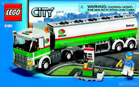 100 Lego City Tanker Truck Toy Game LEGO CITY AIRPORT TANK TRUCK 3180 Preview Manual For