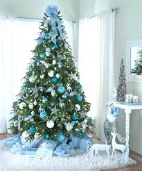 Latest Tree Different White Snow Decoration Models For Merry Festival Kids Photos Of Decorated Christmas Trees