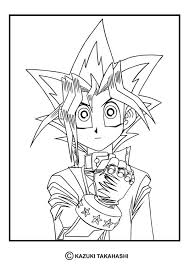 Yu Gi Oh 4 Coloring Page