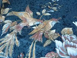 tissus pour rideaux pas cher cuisine beau tissu d ameublement pour rideaux motifs oiseaux