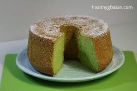pandan chiffon cake gluten free