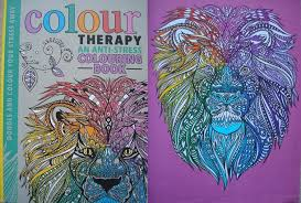 Colour Therapy An Anti Stress Colouring Book A Review