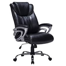 Smugdesk High Back Executive Office Chair With Thick Padding ... Odessa High Back Executive Chair Adjustable Armrests Chrome Base Amazonbasics Black Review Youtube Back Chairleatherette Home Fniture On Carousell Shop Bodybilt 272508 Cosset Highback By Sertapedic Srj48965 Der300t1blk Derby Faux Leather Office 121 Jersey Faced Armchair Cheap Boss Transitional Highback Walmartcom Amazoncom Essentials Fabchair Ayrus With Ribbed Cushion Edge High Meshback Executive Chair With Lumbar Support Ofx Office