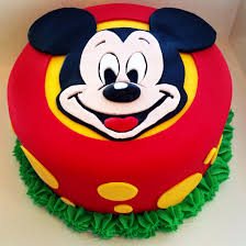 mickey mouse cakes for baby shower Mickey Mouse Cakes Preparing